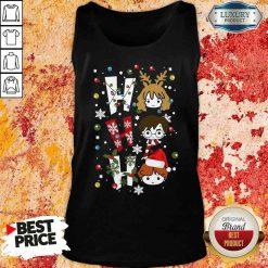 Perfect Harry Potter Ho Ho Ho Merry Christmas Tank Top -Design By Soyatees.com