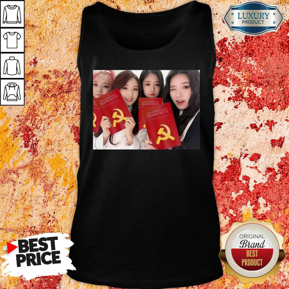 Loona The Communist Manifesto Tank Top-Design By Soyatees.com