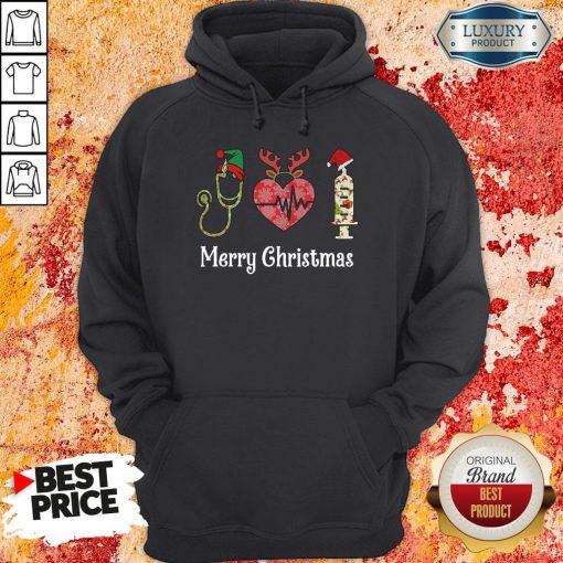 Perfect Nurse Merry Christmas Hoodie-Design By Soyatees.com