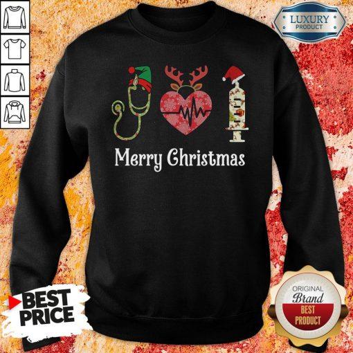 Perfect Nurse Merry Christmas Sweatshert-Design By Soyatees.com