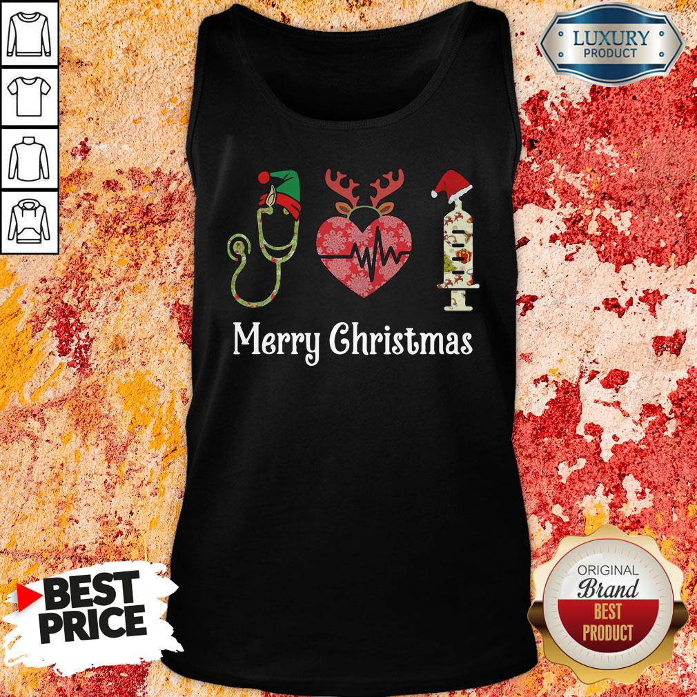 Perfect Nurse Merry Christmas Tank Top-Design By Soyatees.com
