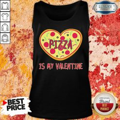 Perfect Pizza Is My Valentine Tank Top-Design By Soyatees.com