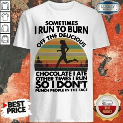 Perfect Running So I Don't Punch People In The Face Shirt-Design By Soyatees.com