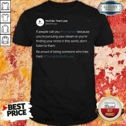 Perfect Tryinghrdwthlyqa Shirt-Design By Soyatees.com