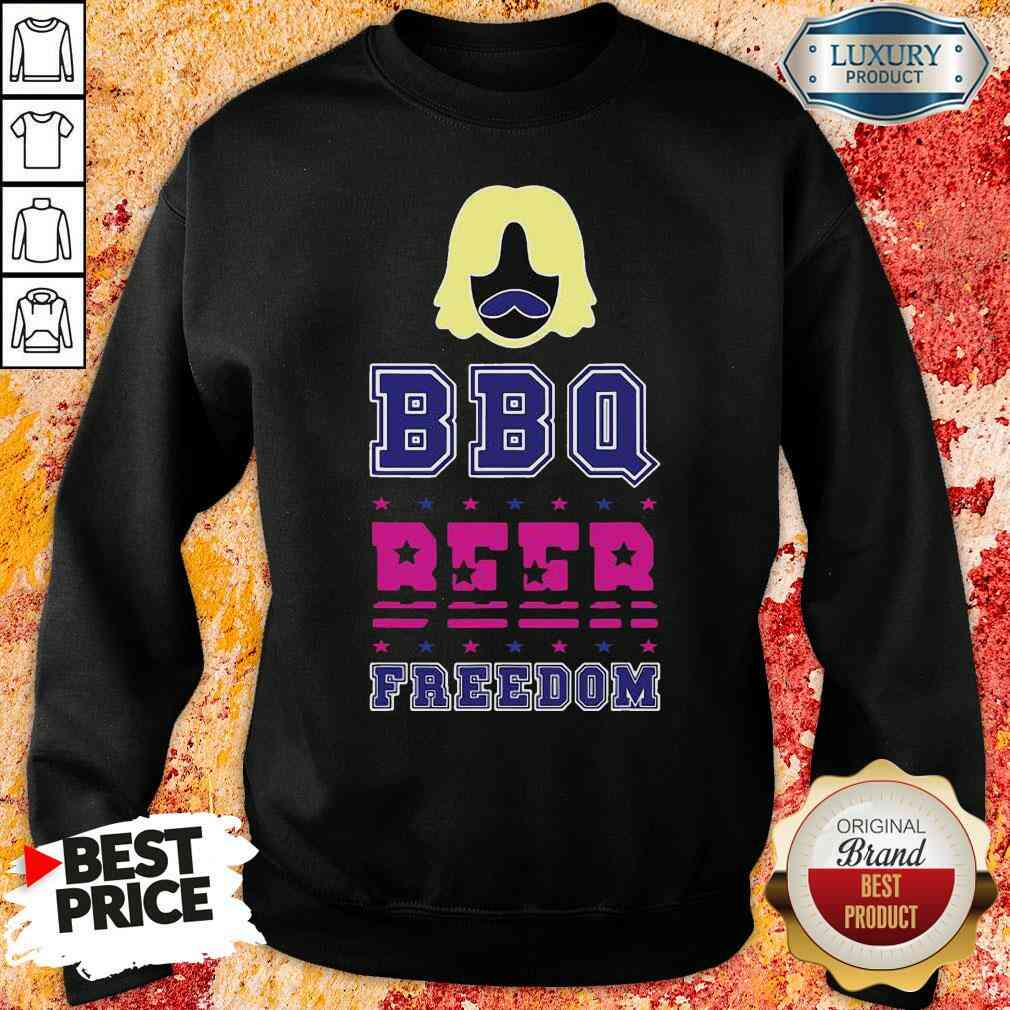 Premium Bbq Beer Freedom Scream Stealing The Election 2020 Sweatshirt-Design By Soyatees.com