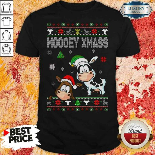 Premium Cows Moooey Xmass Ugly Christmas Shirt-Design By Soyatees.com