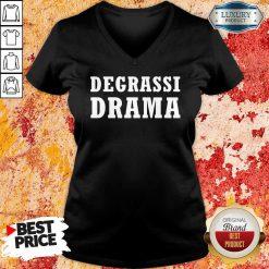 Degrassi Drama V-neck-Design By Soyatees.com
