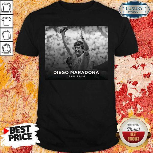 """Diego Armando Maradona Rip 1960 2020 Shirt """"-Design By Soyatees.com"""