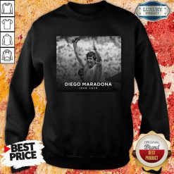 Diego Armando Maradona Rip 1960 2020 Sweatshirt-Design By Soyatees.com