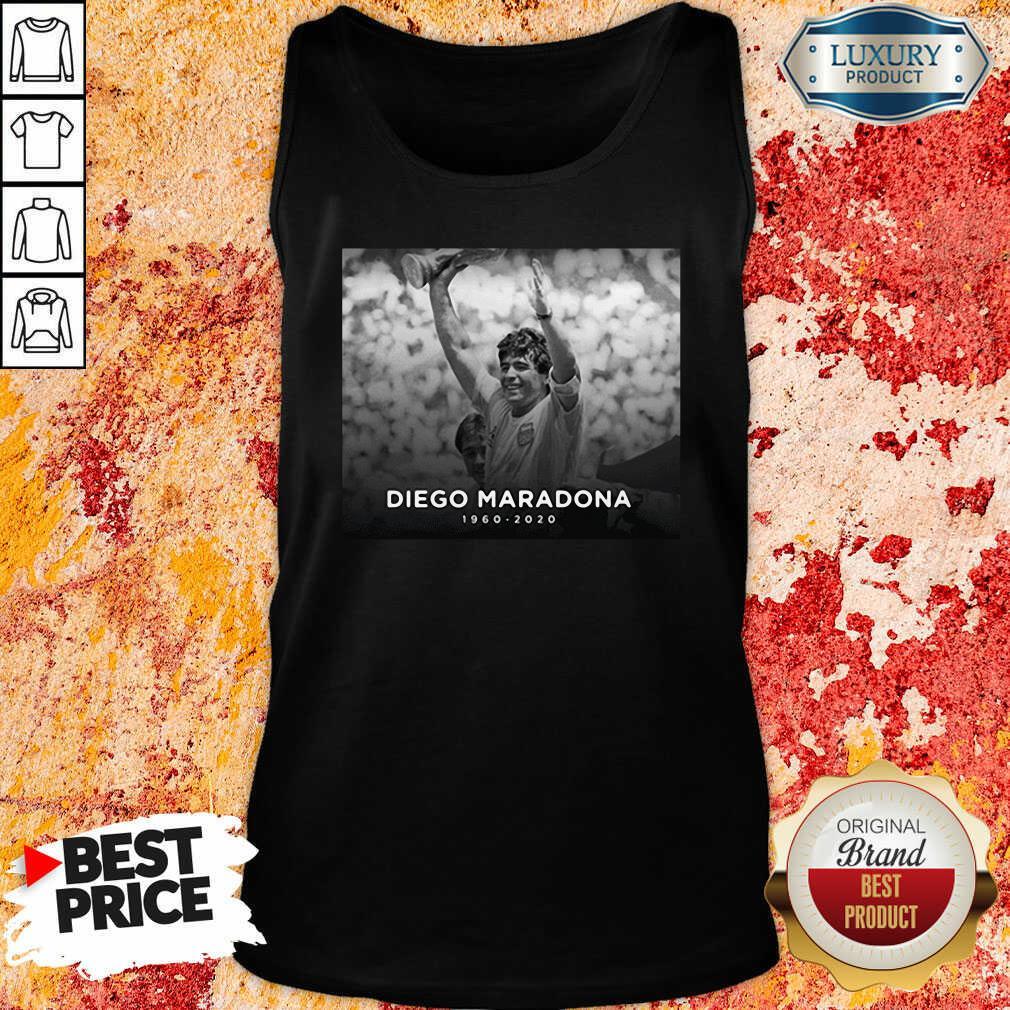 Diego Armando Maradona Rip 1960 2020 Tank Top-Design By Soyatees.com