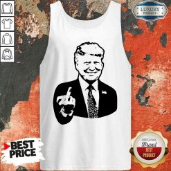Premium Go Trump Yourself Decal Pocket Tank Top-Design By Soyatees.com