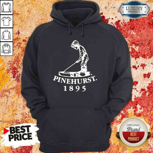 Premium Golf X Pinehurst Putter Boy Imperial Tee Hoodie-Design By Soyatees.com