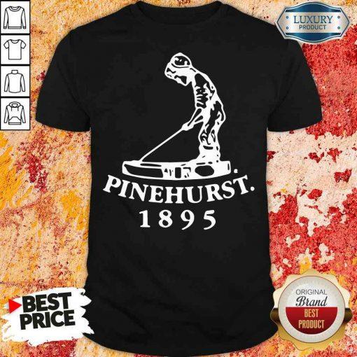 Premium Golf X Pinehurst Putter Boy Imperial Tee Shirt-Design By Soyatees.com