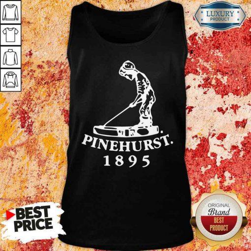 Premium Golf X Pinehurst Putter Boy Imperial Tee Tan Top-Design By Soyatees.com