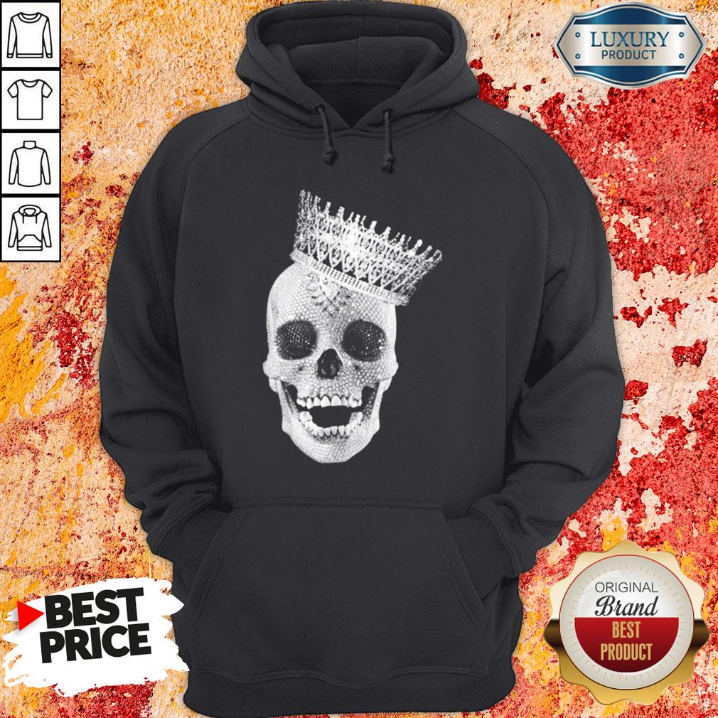 Premium King Skull Diamond Hoodie-Design By Soyatees.com