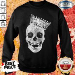Premium King Skull Diamond Sweatshir-Design By Soyatees.com