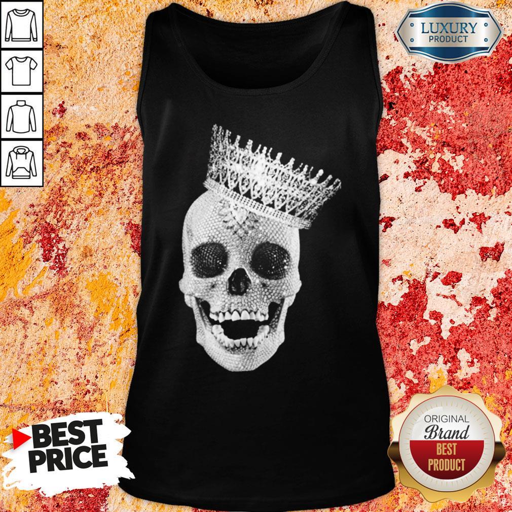 Premium King Skull Diamond Tank-Top-Design By Soyatees.com