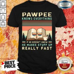 Reading Books And Coffee Pawpee Know Everything If He Doesn'T Know He Makes Stuff Up Really Fast Shirt-Design By Soyatees.com
