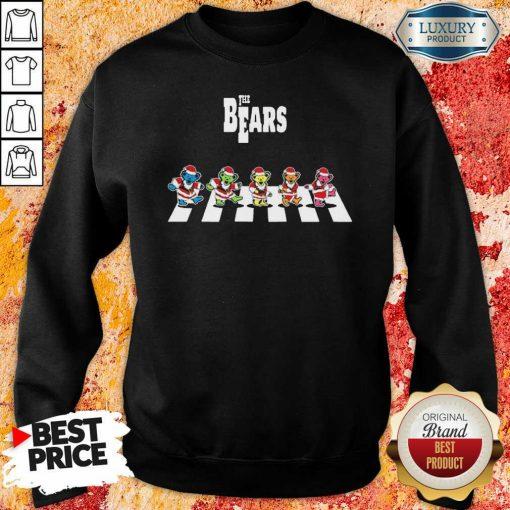 Premium Santa Grateful Dead The Bears Abbey Road Merry Christmas Sweatshirt-Design By Soyatees.com