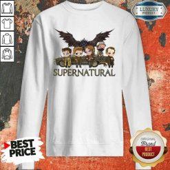 Premium Supernatural Chibi Sweatshirt-Design By Soyatees.com