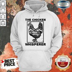Pretty Farmer Farming The Chicken Whisperer Hoodie-Design By Soyatees.com