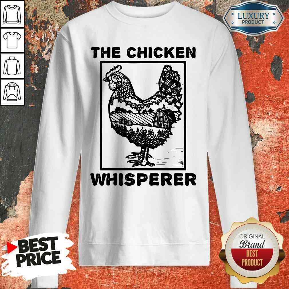 Pretty Farmer Farming The Chicken Whisperer Sweatshirt-Design By Soyatees.com