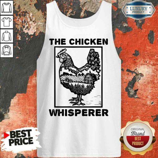 Pretty Farmer Farming The Chicken Whisperer Tank Top-Design By Soyatees.com