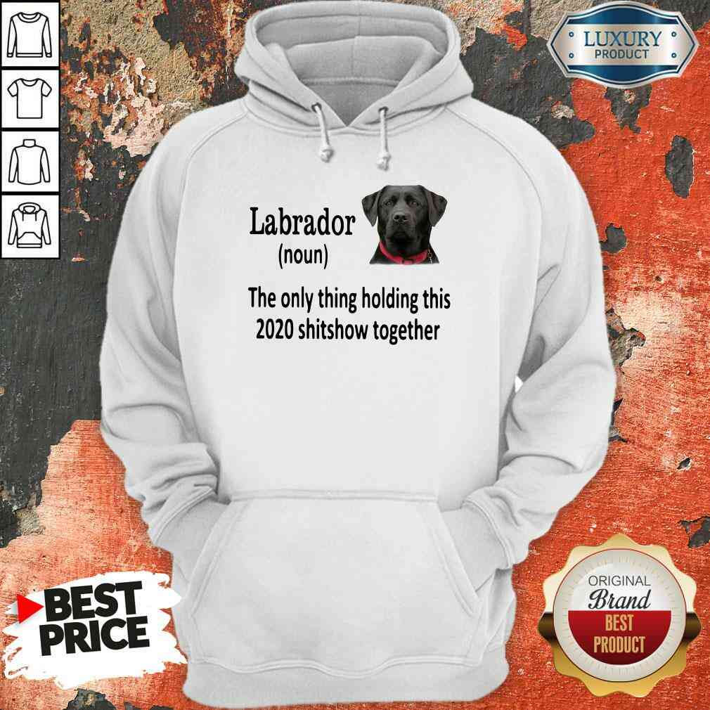 Pretty Labrador The Only Thing Making This 2020 Shitshow Together Hoodie-Design By Soyatees.com