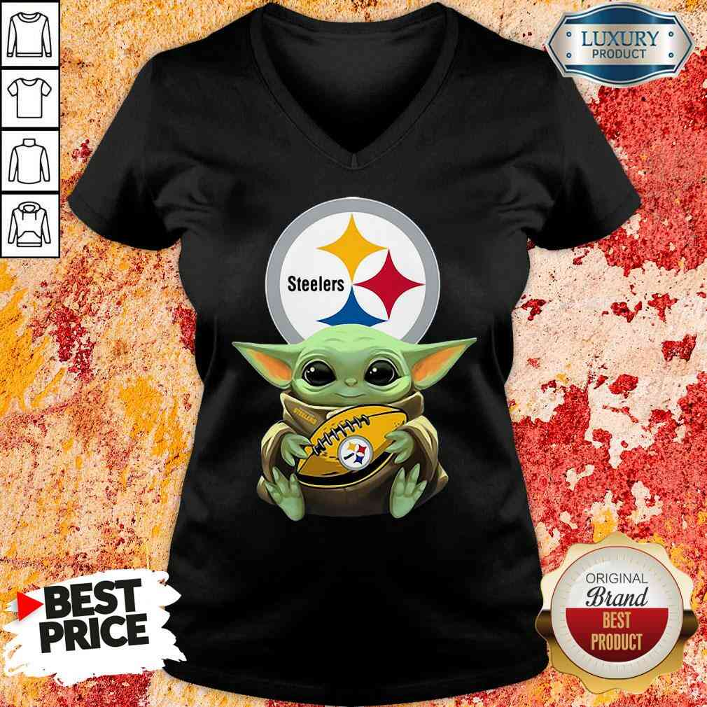 Pretty Steelers Take It Thanksgiving V-neck-Design By Soyatees.com
