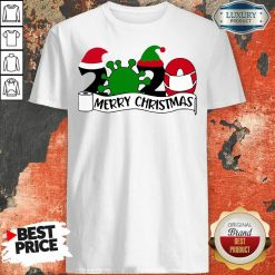 2020 Mask Quarantine Toilet Paper Merry Christmas Shirt-Design By Soyatees.com