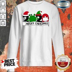 2020 Mask Quarantine Toilet Paper Merry Christmas Sweatshirt-Design By Soyatees.com