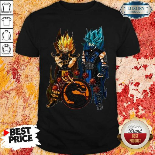 Dragon Ball Son Goku And Vegeta Shirt-Design By Soyatees.com