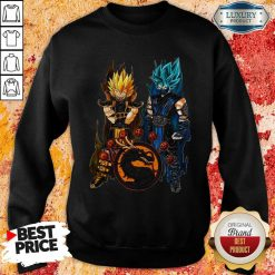Dragon Ball Son Goku And Vegeta Sweatshirt-Design By Soyatees.com