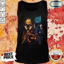 Dragon Ball Son Goku And Vegeta Tank Top-Design By Soyatees.com