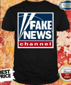 Top Fake News Channel Shirt-Design By Soyatees.com