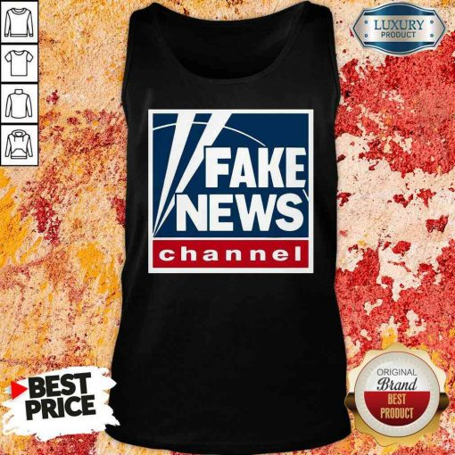 Top Fake News Channel Tank Top-Design By Soyatees.com