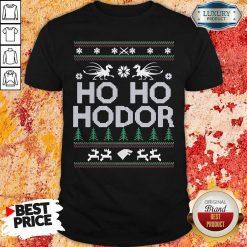 Ho Ho Hodor Toothless Merry Christmas Shirt-Design By Soyatees.com