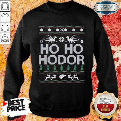 Ho Ho Hodor Toothless Merry Christmas Sweatshirt-Design By Soyatees.com