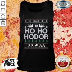 Ho Ho Hodor Toothless Merry Christmas Tank Top-Design By Soyatees.com