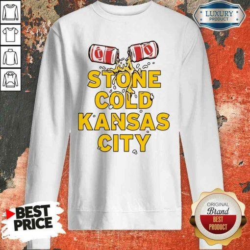 Top Stone Cold Kansas City Sweatshirt-Design By Soyatees.com
