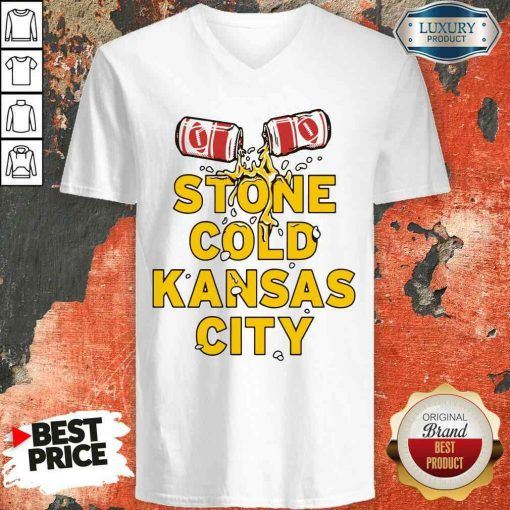 Top Stone Cold Kansas City V-neck-Design By Soyatees.com