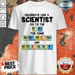 Celebrate Like A Scientist Go To The Bar For Some Beer Wine And Whisky ShirtAwesome Celebrate Like A Scientist Go To The Bar For Some Beer Wine And Whisky Shirt-Design By Soyatees.com