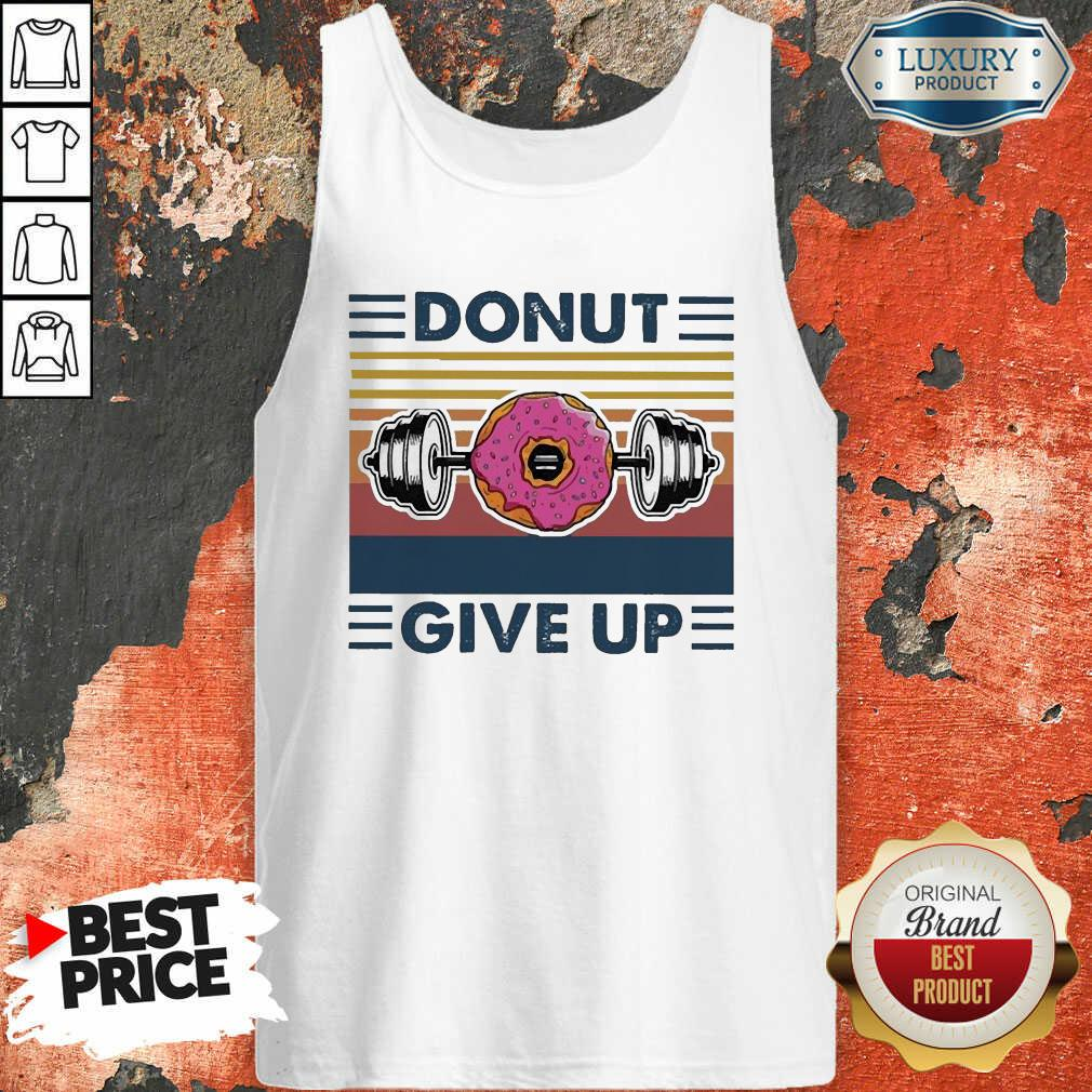 Don'T Give Up Vintage Tank Top-Design By Soyatees.com