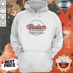 Madam Vice President Harris 2020 Hoodie-Design By Soyatees.com