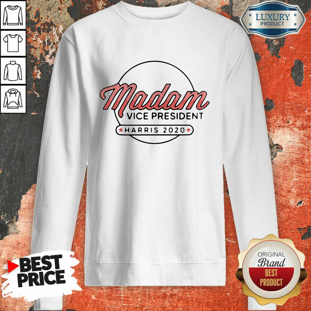 Madam Vice President Harris 2020 Sweatshirt-Design By Soyatees.com