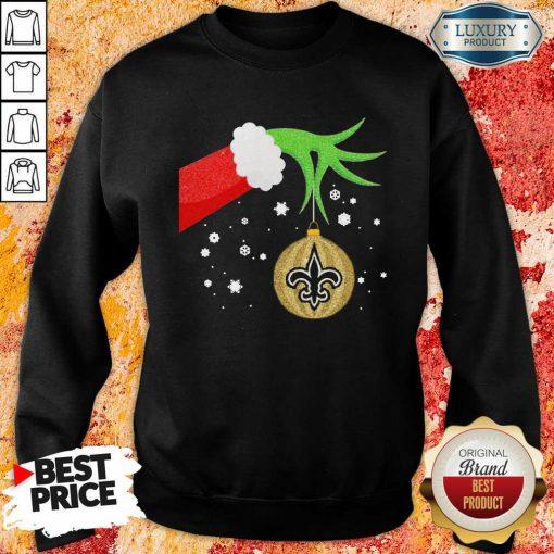 Grinch Christmas Ornament Seattle Seahawks Sweatshirt-Design By Soyatees.com