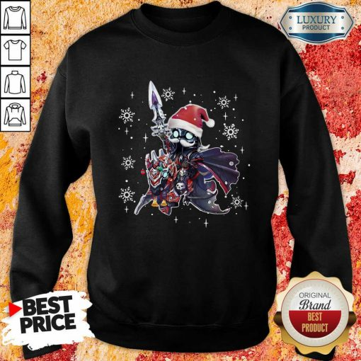 Lich King Christmas Edition Classic SWeatshirt-Design By Soyatees.com