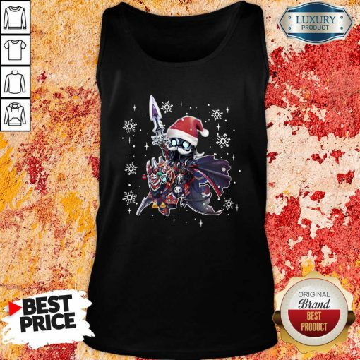 Lich King Christmas Edition Classic Tank Top-Design By Soyatees.com
