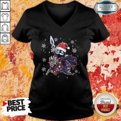 Lich King Christmas Edition Classic V-neck-Design By Soyatees.com