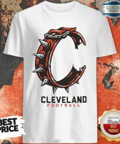 Logo Cleveland Football Shirt-Design By Soyatees.com